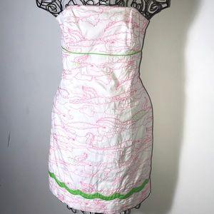 Lily  Pulitzer Franco alligator growl dress